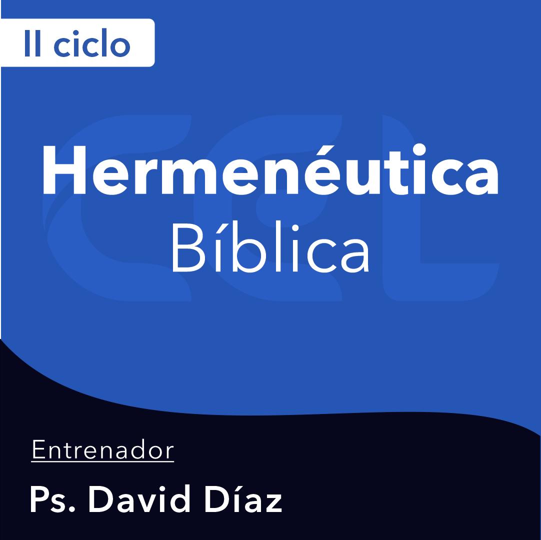 Hermenéutica Bíblica 21-I