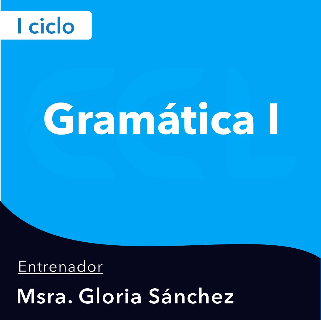 Gramática I -21-I