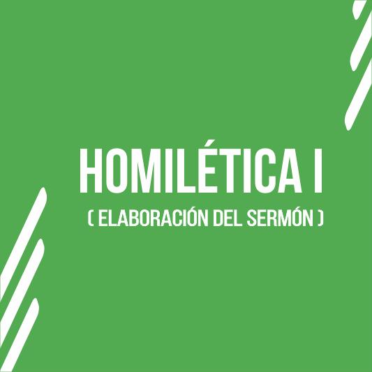Homilética I - 21 I